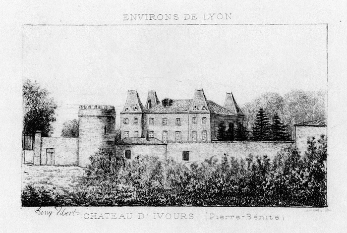 chateau Yvours Irigny
